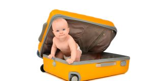 Viajar com o bebé