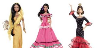 Barbie - Traje Típico de Diversos Países