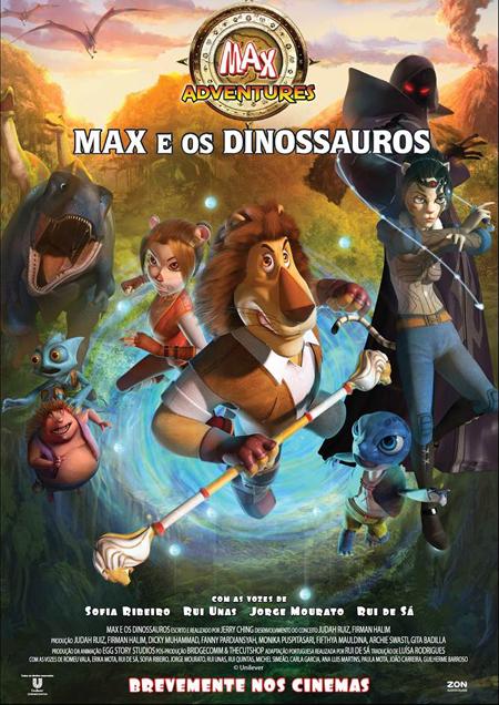 Max e os Dinossauros - Filme Animação