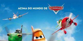 Estréia - Filme Aviões da Disney