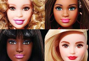 Barbie ganha novos tons de pele e looks diferentes