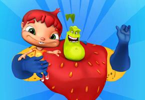 Série animada brasileira fala de alimentação saudável para crianças