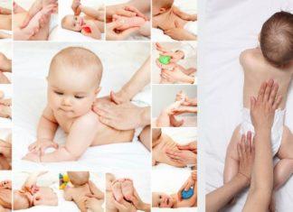 Massagens para bebês