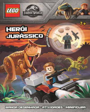 Lego Jurássico World Herói Jurássico