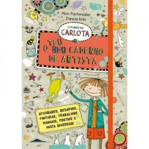 O Mundo da Carlota O Teu Caderno de Artista