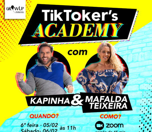 Tiktokes's Academy com Kapinha e Mafalda Teixeira