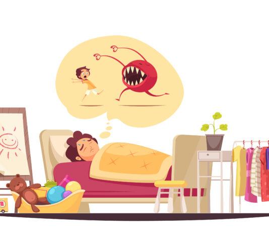 Filhos e Pesadelos Durante a Noite Como Lidar